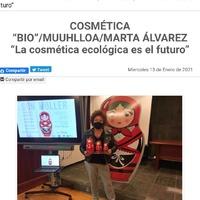Moitas grazas a @vida_sana_org polo artigo. #muuhlloa #milhulloa_coop #granxamaruxa #cosmeticakm0 #cosmeticagalega #cosmetik#galiciacalidade #cosmeticanatural #cosméticaecológica #cosmeticasostenible